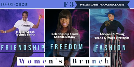 F3  Friendship~Fashion~Freedom tickets
