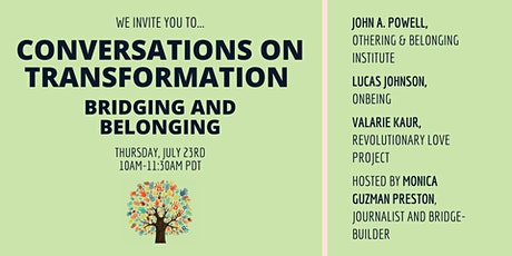 Bridging and Belonging: Conversations on Transformation tickets