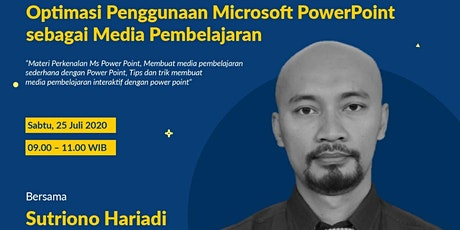 (Paid) Optimasi Penggunaan Microsoft PowerPoint sebagai Media Pembelajaran tickets
