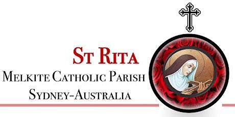 St Rita Melkite Catholic Parish - Divine Liturgy 12th July 2020 tickets