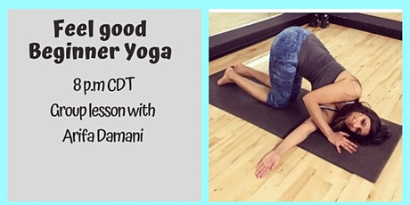 Group Fitness Yoga Lesson with Arifa tickets