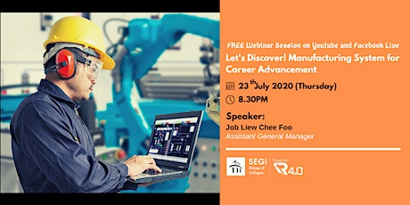 Let's Discover! Manufacturing System for Career Advancement tickets