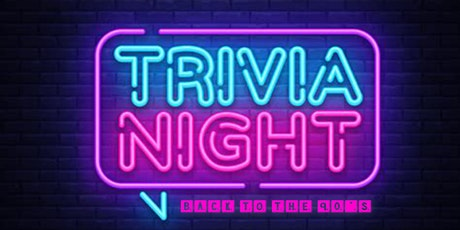 Back to the 90's Themed Trivia Online Fundraiser tickets