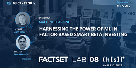 Webinar: Harnessing the power of ML in factor-based smart beta investing tickets