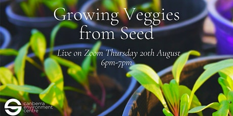 Growing Veggies from Seed tickets