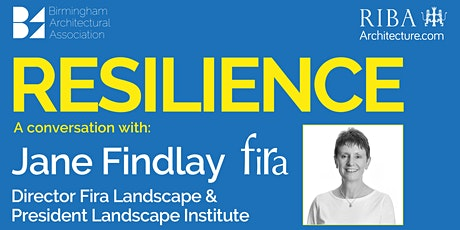 Resilience with Jane Findlay - Fira Landscape tickets