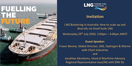 LNG Bunkering in Australia: How to scale up & diversify via Small Scale LNG tickets