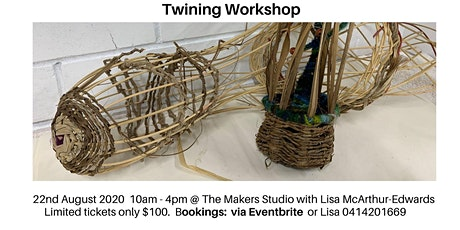 Twining Workshop tickets