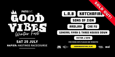 Good Vibes Winter Festival | Napier tickets