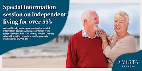 Special information session for over 55s tickets