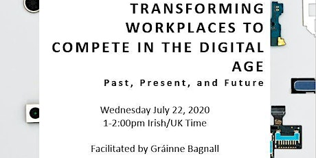 MASTER SERIES: Transforming Workplaces to Compete in the Digital Age tickets