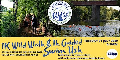 1K Wild Walk & Guided Swim (Usk) tickets