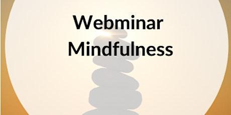 WEBMINAR GRATIS. Mindfulness práctico entradas