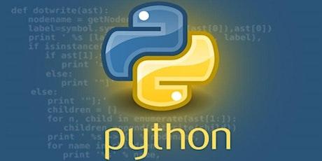Workshop +12 jaar -- Python gevorderden tickets
