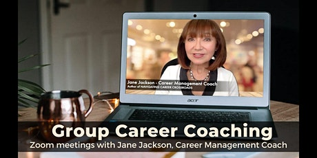 Online Group Career Coaching with Jane Jackson - Virtual 'LIVE' Events tickets