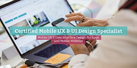 Certified Mobile UX & UI Design Specialist, Köln Tickets