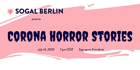 SoGal Berlin: Corona Horror Stories tickets