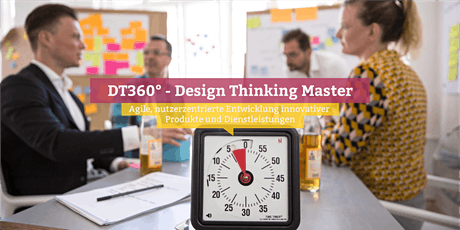 DT360° - Certified Design Thinking Master, Hamburg Tickets