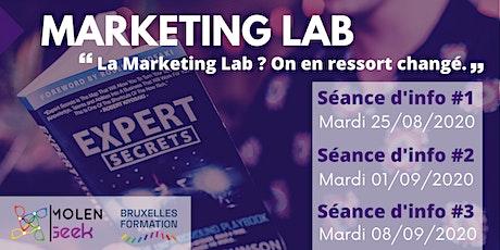 Marketing Lab 4 [Séance d'info 1] Meilleure formation en Marketing Digital. billets