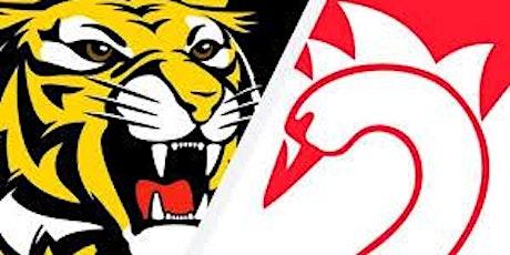 Round  6 - Richmond vs Sydney - LIVE @ The Cammy tickets