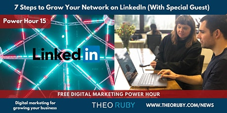 7 Steps to Grow Your Network on LinkedIn (With The Queen Bee of LinkedIn) tickets