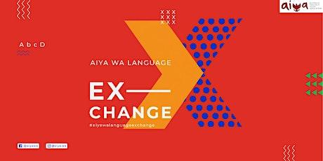 AIYA WA Language Exchange (LX) tickets