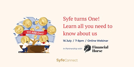 Syfe Anniversary with Financial Horse tickets