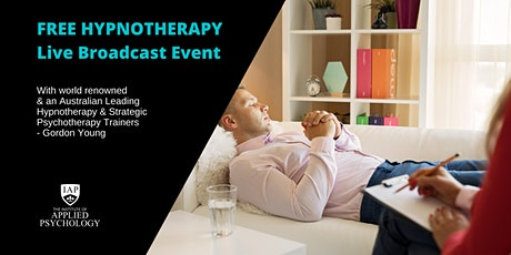 FREE Hypnotherapy Masterclass with world renowned Gordon Young tickets
