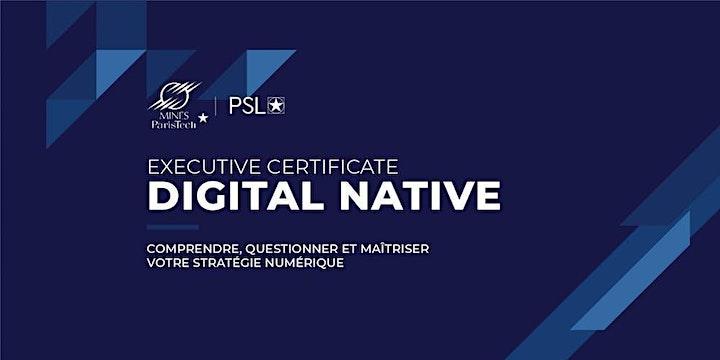 """Image pour Webinar de Présentation du Certificat Exécutif """"Digital Native"""" 2020"""