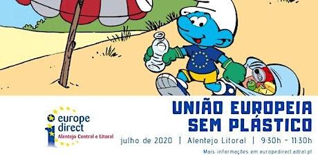 União Europeia sem Plásticos - Praia da Lagoa de Santo André bilhetes