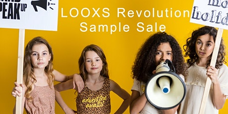 LOOXS Revolution Sample Sale SS20 tickets