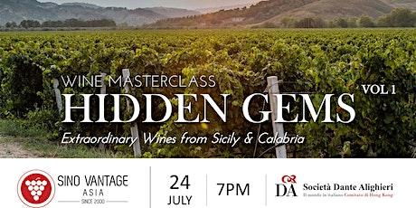 Hidden Gems - Italian Wine Masterclass - Vol 1 tickets