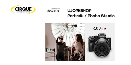 WORKSHOP SONY: Portrait/Photo Studio tickets
