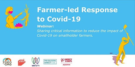 Supporting Smallholder Growers during COVID tickets