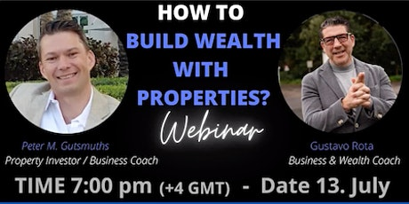 BUILDING WEALTH WITH PROPERTIES tickets