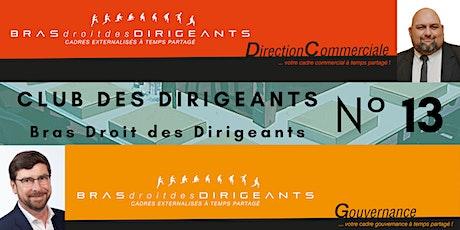 Club Bras Droit des Dirigeants N°13 billets