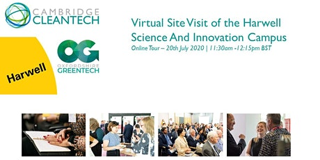 Harwell Science And Innovation Campus – Virtual Site Visit tickets