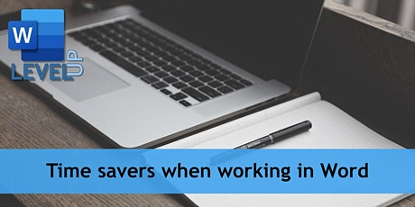 MS Word: times saver when working in Word tickets