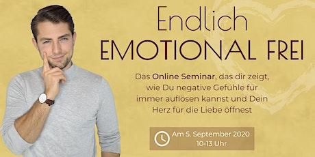 Endlich emotional frei-Wie Du negative Gefühle für immer auflösen kannst Tickets