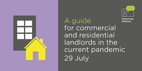 A guide for commercial and residential landlords in the current pandemic tickets