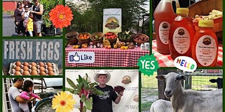 Fun & Natural Farmers Market, Fruit Trees, Cute Animals, UPick tickets