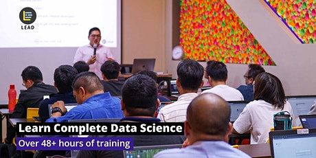 Data Science 360 - Data Science, AI, Big Data Analytics Certification tickets