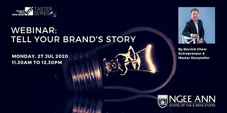 Webinar: Tell Your Brand's Story - Create & Engage Your Audience tickets