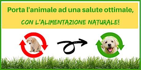 Porta l'animale ad una salute ottimale, con l'alimentazione naturale! biglietti