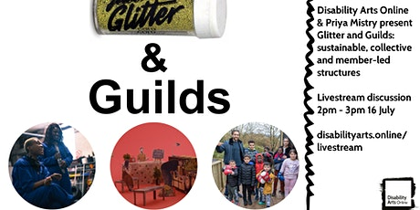 Glitter & Guilds: sustainable, collective and member-led structures tickets