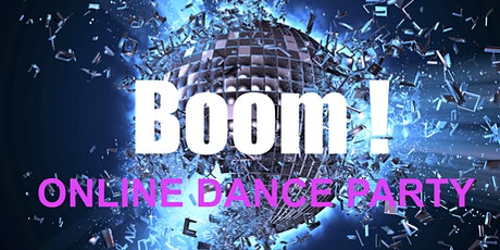 BOOM! Online Dance Party tickets