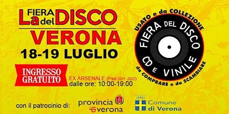 FIERA DEL DISCO DI VERONA (18-19 LUGLIO) biglietti