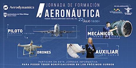 Jornada de formación Aeronáutica entradas