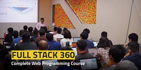 Full Stack 360 // Build Market-Ready Websites & Web Applications tickets