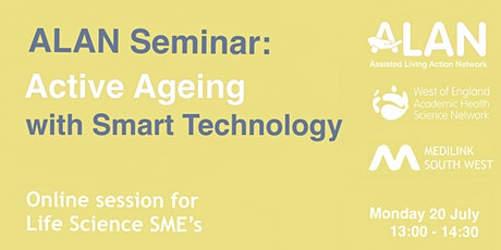 ALAN Seminar: Active Ageing with Smart Technology tickets